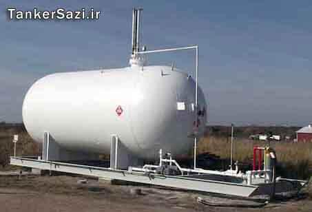 مخازن گاز مایع LPG ال پی جی