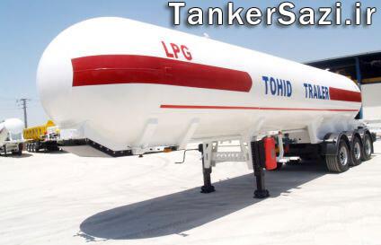 مخازن گاز مایع ال پی جی LPG