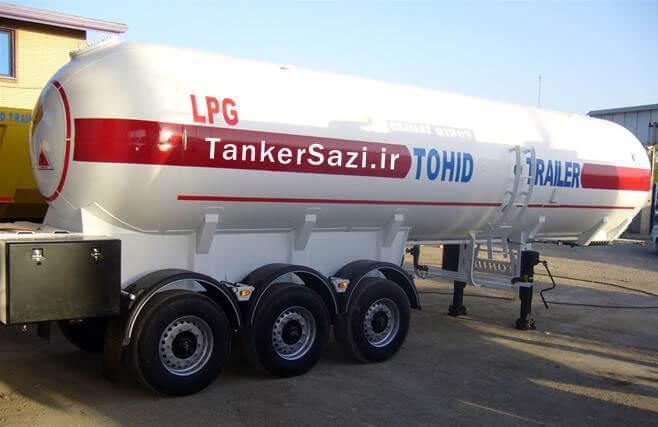 مخزن گاز LPG ال پی جی
